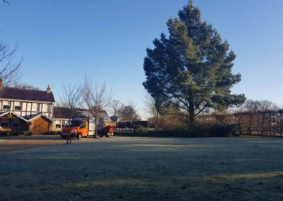 Tree Removal Mobberley, Cheshire – 07. – 08.02.2018.