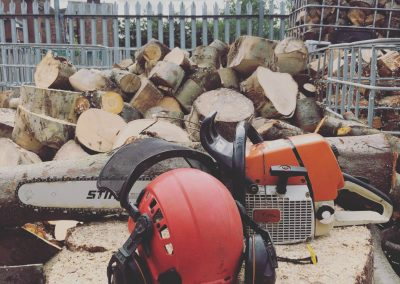 Firewood logs preparation Salford – 13.09.2018.