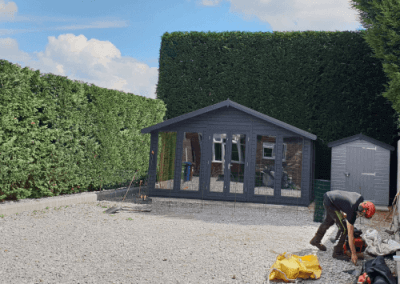 Hedge Cutting Stockport, Greater Manchester – 30.07.2018.