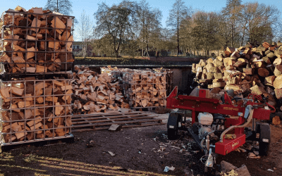 Seasoned hardwood logs, firewood in manchester