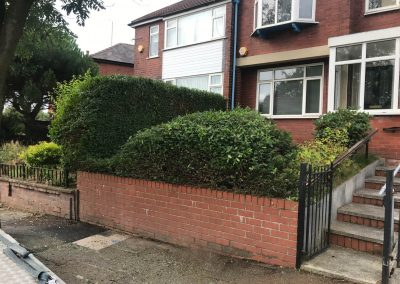 Full garden clearance and hedge cutting in Prestwich, Manchester – 30.08.2019.