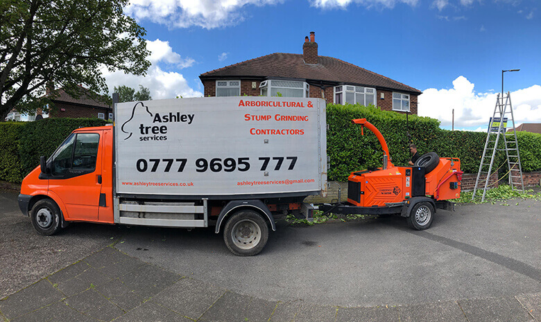 Tree surgeons Manchester and Cheshire Ashley Tree Services